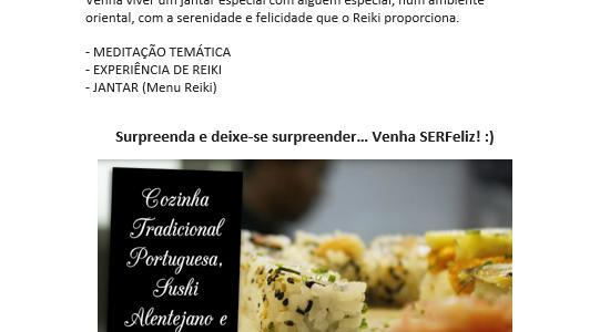 Sushi com Reiki