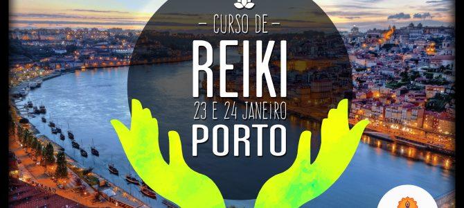 Curso de Reiki (Shoden) – Porto