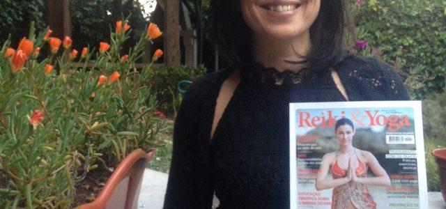 SERFeliz na Revista Reiki & Yoga