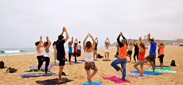 Yoga com Caminhada, Azenhas do Mar