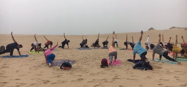 Yoga & Caminhada: Lagoa de Albufeira